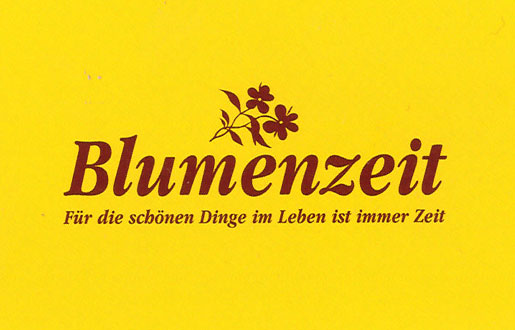 Blumenzeit Waltraud Schmidt