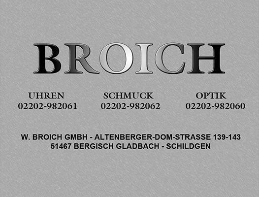 Uhren - Schmuck - Optik BROICH