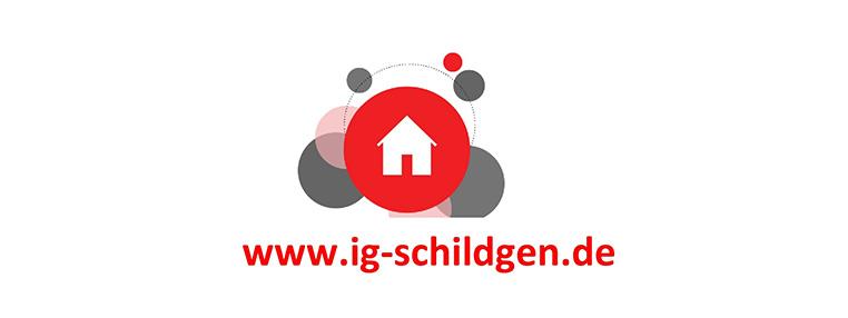 Website der IG Schildgen: Relaunch