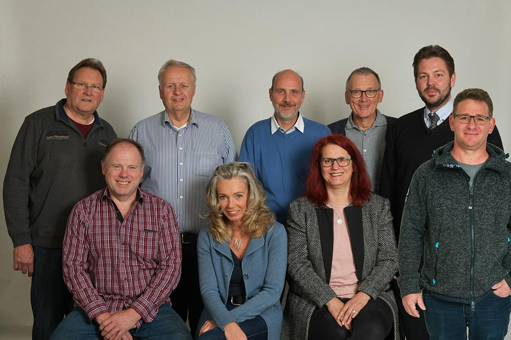 Vorstand der IG Schildgen - Gruppenfoto 2018
