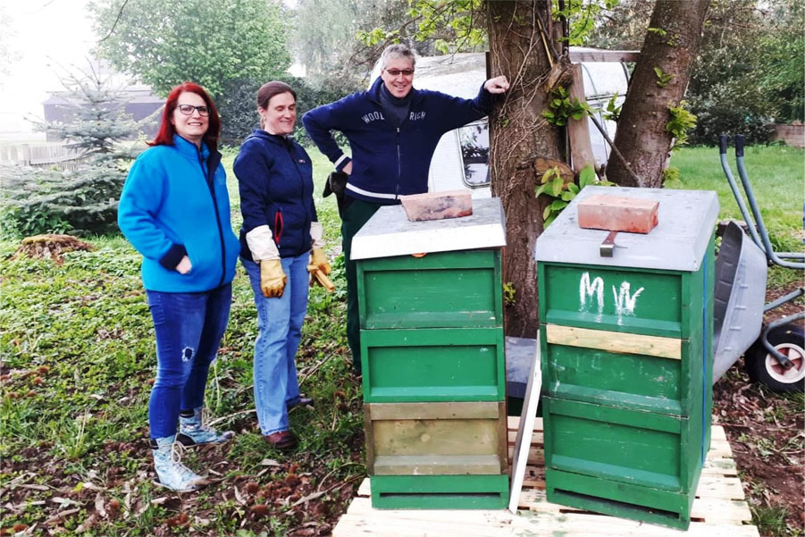 Bienenprojekt in Schildgen – Die letzten Vorbereitungen