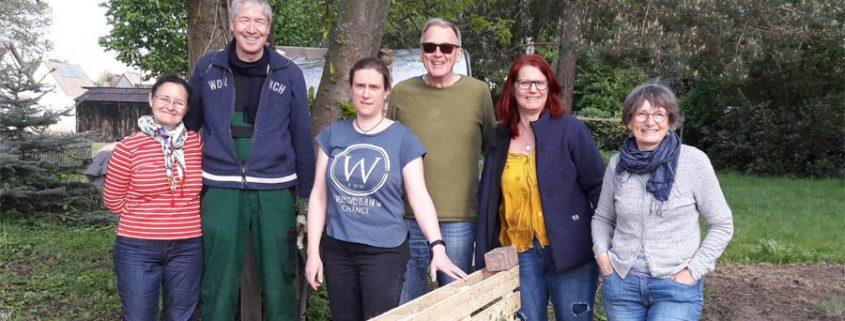 IG Schildgen - Fundament für Bienenprojekt
