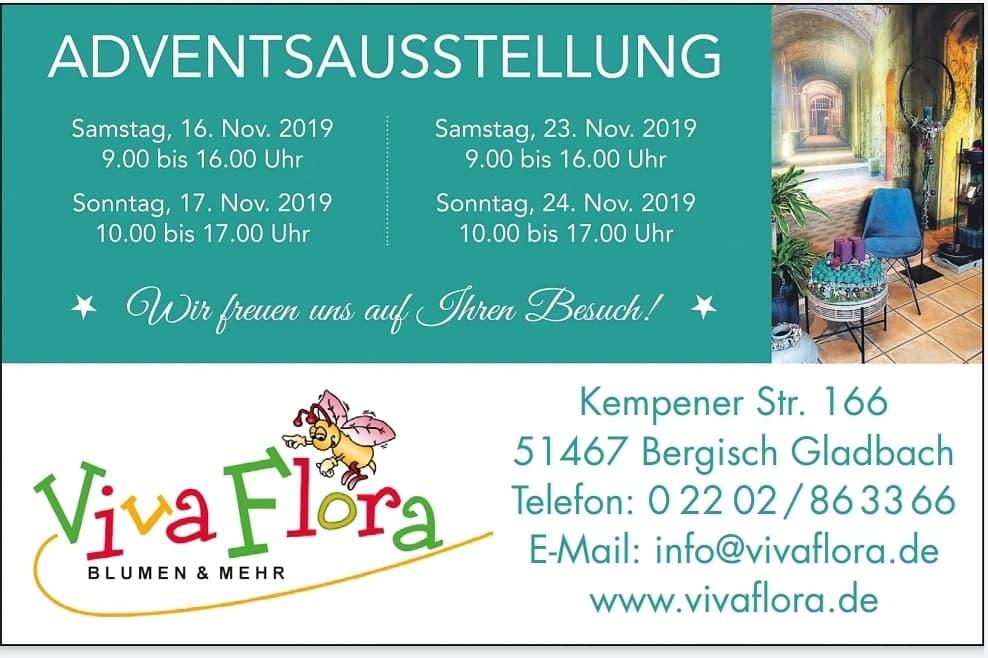 Adventsausstellung bei Viva Flora