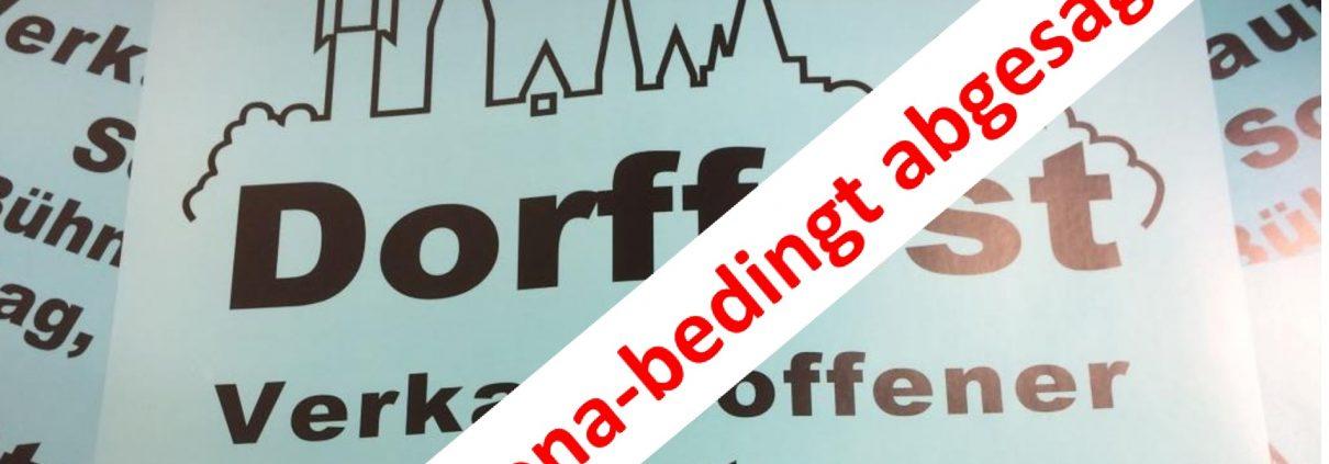 Dorffest in Schildgen - Corona-bedingt abgesagt