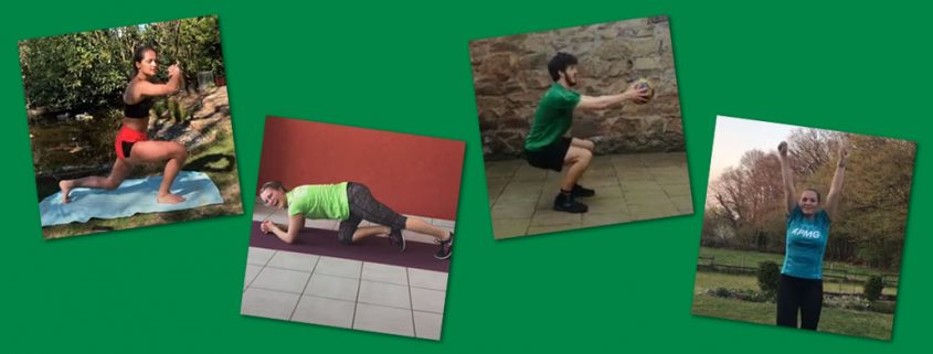 Video-Workouts mit dem TuS Schildgen