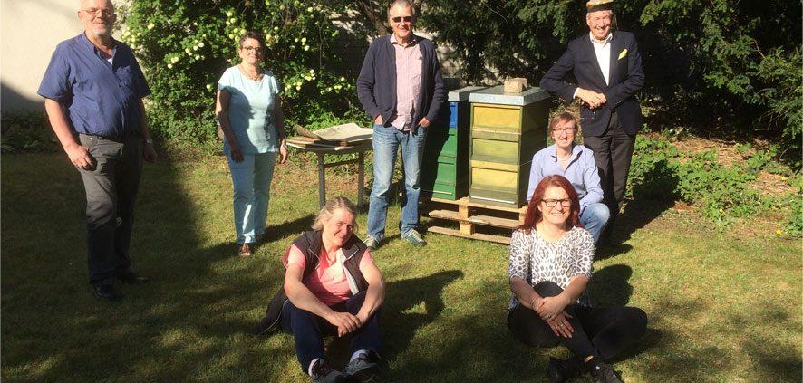 Bienenprojekt in Schildgen 2020