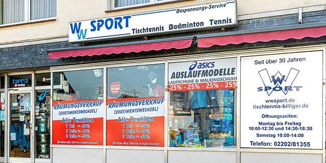 WW Sport Mausbach in Schildgen